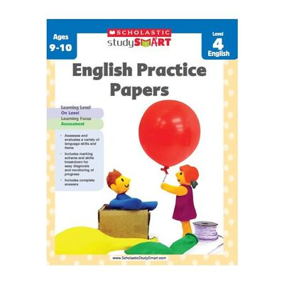Study Smart English Practice Papers level 4