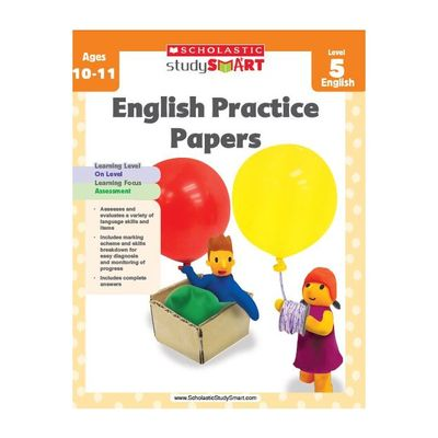 Study Smart English Practice Papers level 5