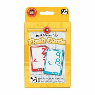 Multiplication 0-12 Flash Cards Ages 6+ - GNS