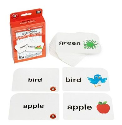 Sight Words Flash Cards Age 5+ - GNS