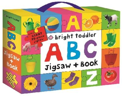 ABC (Bright Toddler Jigsaw and Book Set)