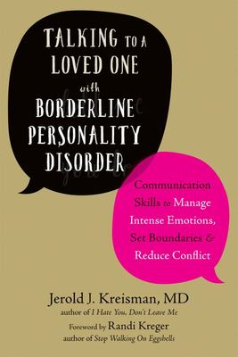 Talking to a Loved One with Borderline Personality Disorder
