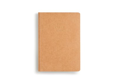 Weekly 2020 Diary Soft Cover A5 Notebook Paper Bound Kraft