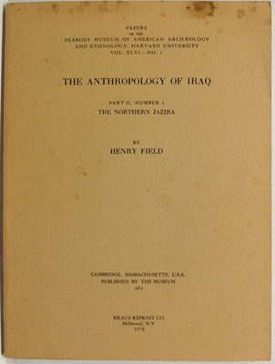 The Anthropology of Iraq Part II, Numbers 1-3 (2 vols)