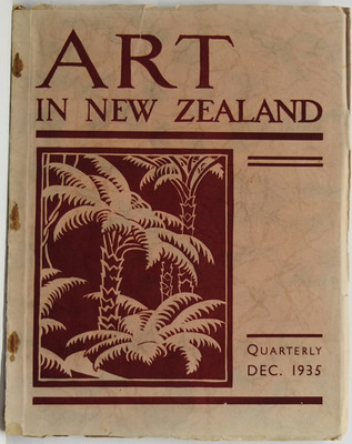 Art in New Zealand 30, December 1935, Vol. VIII, No. 2