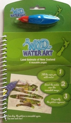 Land Animals of New Zealand (Wild Water Art)