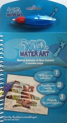Marine Animals of New Zealand (Wild Water Art)