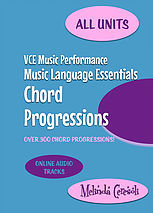 VCE Music Performance, Music Language Essentials, Chord Progressions - Units 1-4