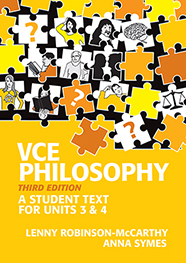 vce philosophy units 3&4 3rd ed