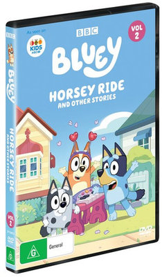 Bluey: Horsey Ride and Other Stories (Volume 2)