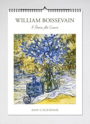 2021 William Boissevain Wall Calendar (BIP 0044)