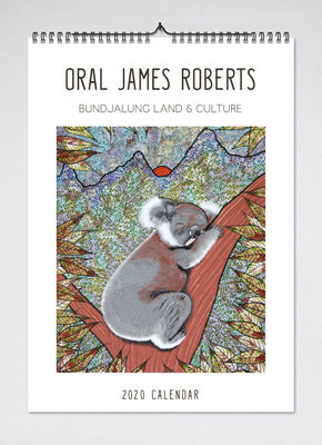 2021 Oral James Roberts Wall Calendar (BIP 0019)