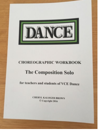 Choreographic Workbook #2 Composition Solo