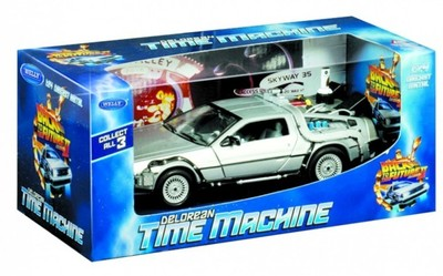 Back to the Future 2 Diecast Car