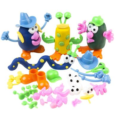 Dough Characters Pack of 52 pieces Age 3+ DP52 - ED
