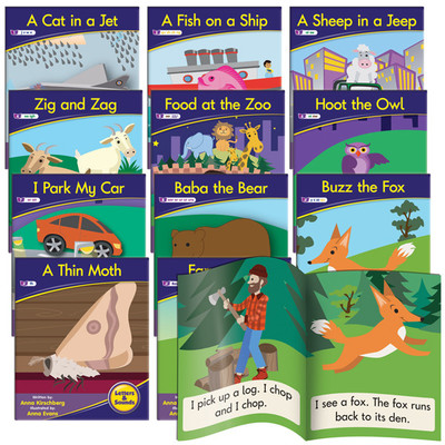 Letters and Sounds Decodable Readers Phase 3 - Phonics Fiction