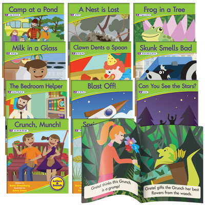 JL383 Letters and Sounds Decodable Readers Phase 4 - Blend Fiction