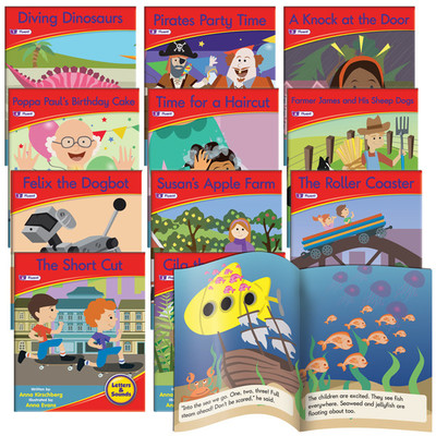Decodable Readers Phase 6 - Spelling Fiction