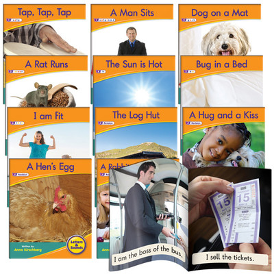 Decodable Readers Phase 2 - Letter Sound Non-Fiction