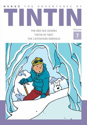 The Adventures of Tintin (Bind-Up #7: Red Sharks, Tintin in Tibet, The Castafiore Emerald)