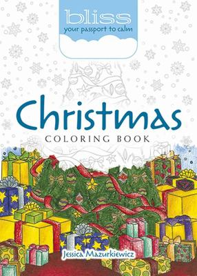 BLISS Christmas Coloring Book (Adult Coouring Book)