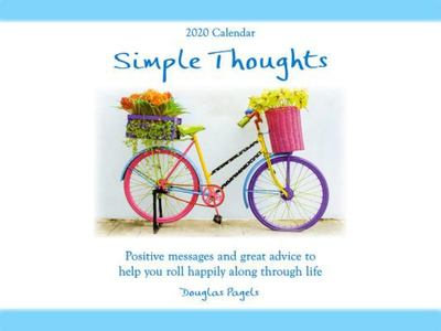 """2020 Calendar: Simple Thoughts / Positive Messages and Great Advice to Help You Roll Happily along Through Life 9""""x 12"""""""