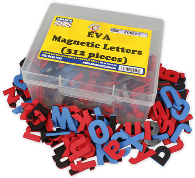 Magnetic Letters EVA 312 pieces - Abacus