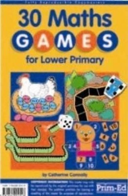 30 MATHS GAMES LOWER - RIC-2411