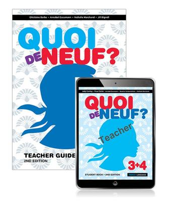 Quoi de Neuf ? 3+4 Teacher Guide, Teacher EBook and Audio Download (2nd Edition)