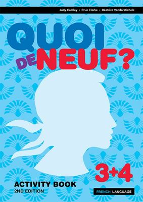 Quoi de Neuf ? 3+4 Activity Book (2nd Edition)