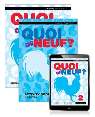 Quoi de Neuf ? 2 Student Book, EBook and Activity Book (2nd Edition)