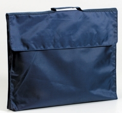 Sovereign Library Bag 315 x 350cm Navy Velcro Fastening - 89020 - GNS