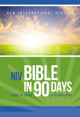 The NIV Bible in 90 Days - Cover to Cover in 12 Pages a Day