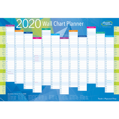 Double-sided Wall Chart Planner - 2518