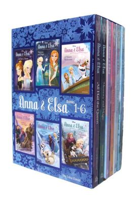 Anna and Elsa: Frozen Books 1-6