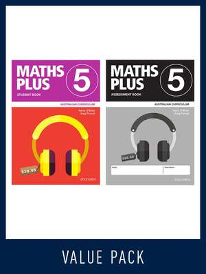 Maths Plus Australian Curriculum Book 5 Student and Assessment Value Pack 2020	- Oxford