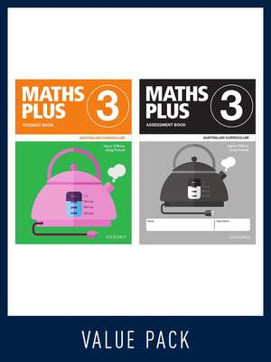Maths Plus Australian Curriculum Student and Assessment Book 3 Value Pack 2020