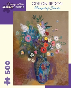 Odilon Redon: Bouquet of Flowers 500-Piece Jigsaw Puzzle