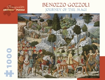 Benozzo Gozzoli: Journey of Magi 1000-Piece Jigsaw Puzzle