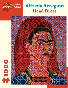Alfredo Arreguin: Head Dress 1000-Piece Jigsaw Puzzle