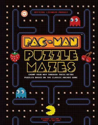Pac-Man Puzzle Mazes - Chomp Your Way Through These Retro Puzzles Based on the Classic Arcade Game