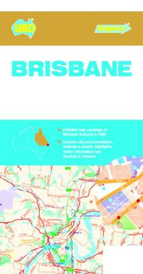 Brisbane Suburbs and City Centre Map 418 10th Ed