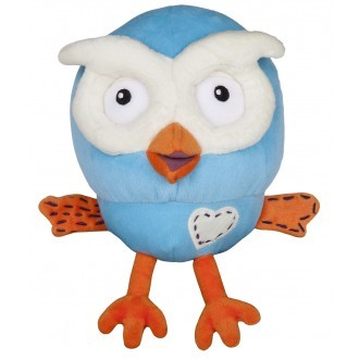 Hoot 18cm Plush Toy (Giggle and Hoot) (AG3100)