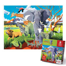 Wild Safari Puzzle 500pc