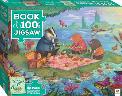Wind in the Willows (Book and Puzzle)