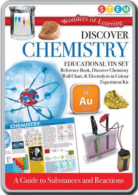 Discover Chemistry: Educational Tin Set (Wonders of Learning)