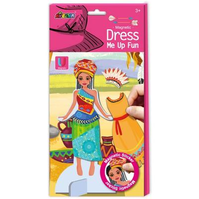 African Princess Magnetic Dress Up