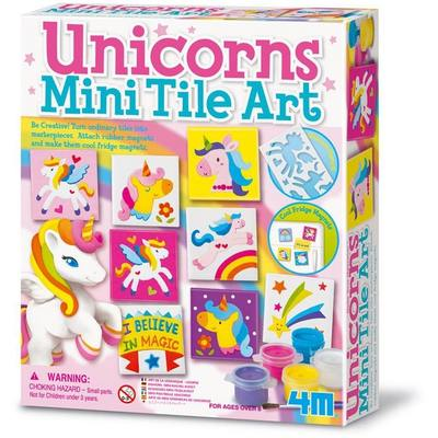 Unicorns Magnetic Mini Tile Art