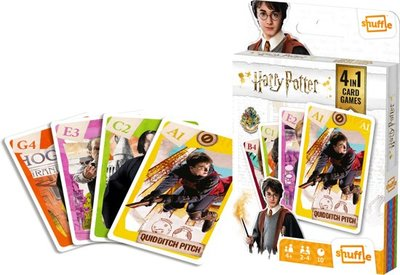 Harry Potter 4in1 Card Game (Shuffle)