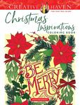 Creative Haven Christmas Inspirations Coloring Book